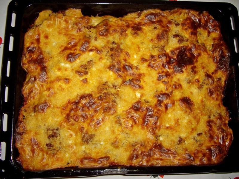 Moussaka Greek dish