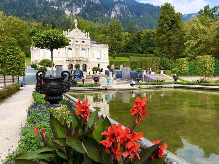 Linderhof Castle and Gardens