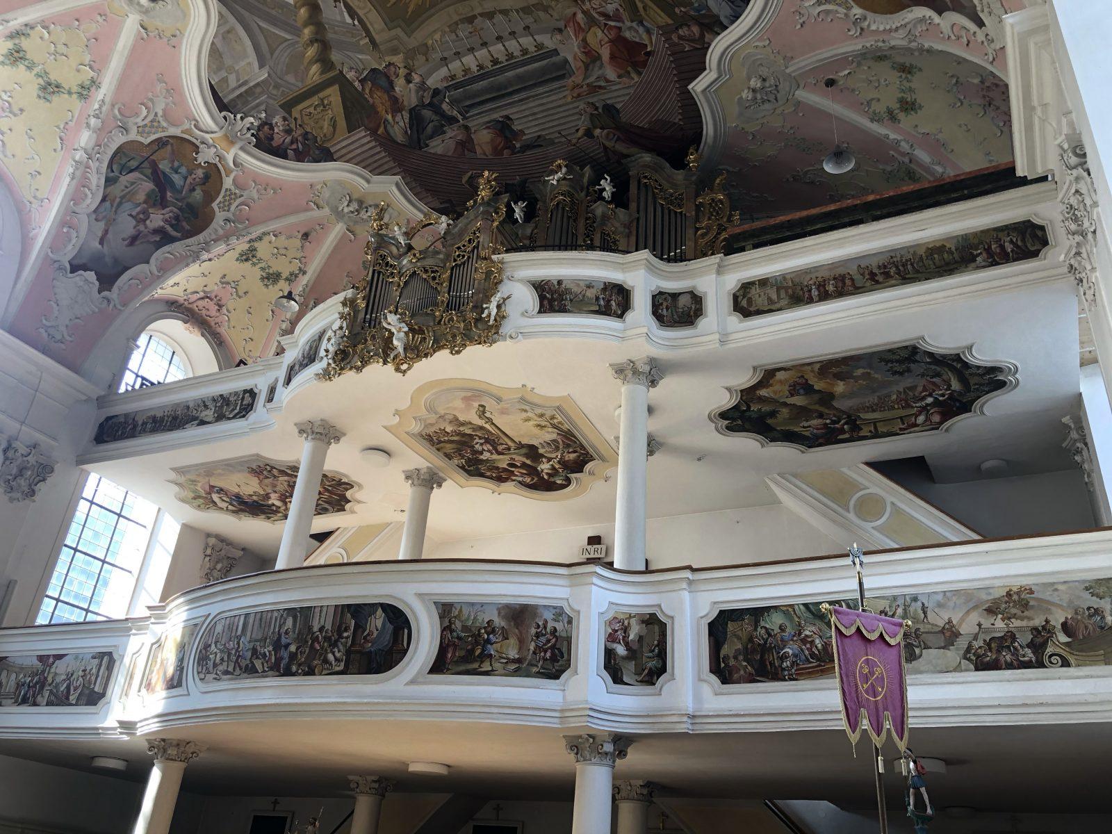 Peter and Paul church Oberammergau