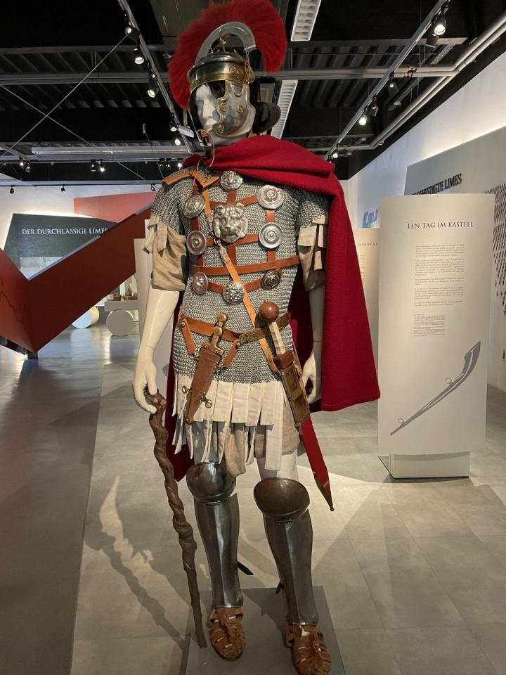 Roman legion soldier