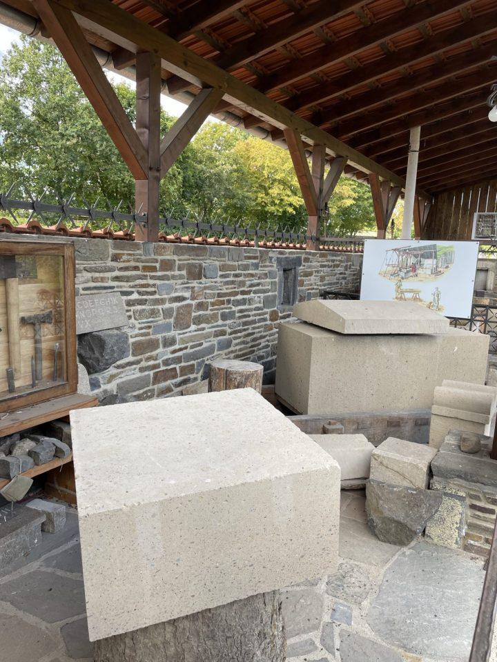 Roman Stone making