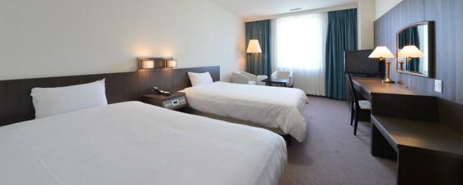 guestroom_twin01 hakodate hotel kokusai