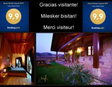 Guest Review Award 2017 en Casa Angiz Etxea, Navarra