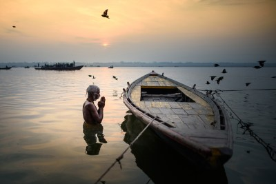 The Holy Ganga, Varanasi by Alessandro Vannucci