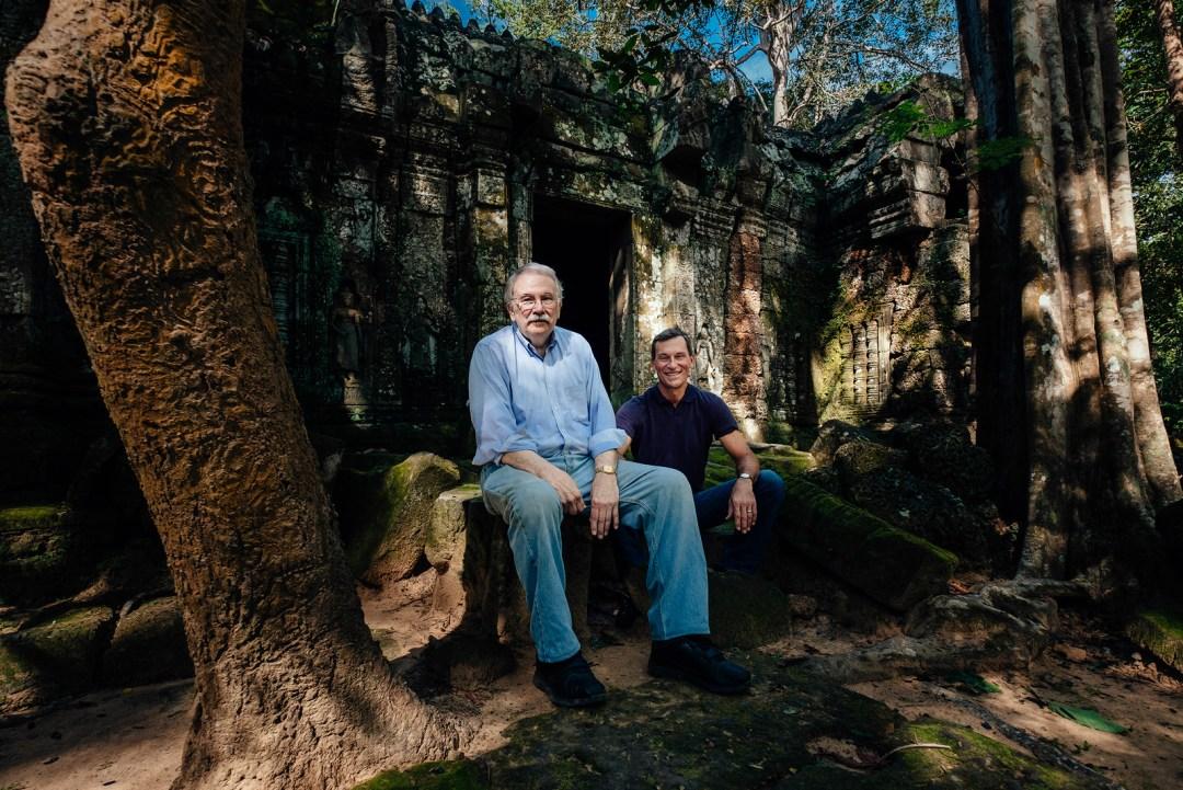 Father & Son's Cambodian Adventure