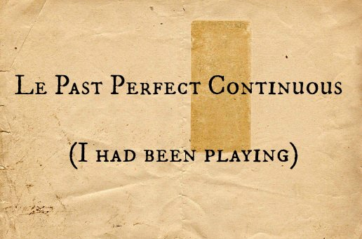 Past perfect continuous anglais