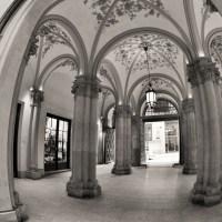 Bending pillars
