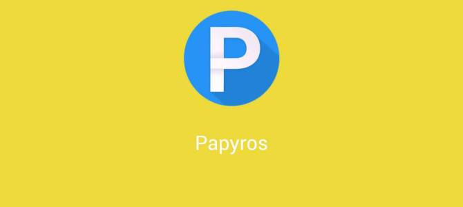 Material Design to Linux – Papyros