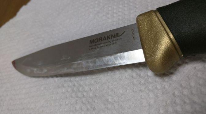 釣り用ナイフのお手入れ方法