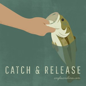 bass fishing catch and release