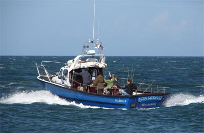 a picture showing the sea fishing boat Starida 2