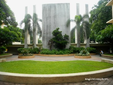 The Smiling Tamaraw Garden. It's only when you are at an elevated place will you find out why it is named as such.