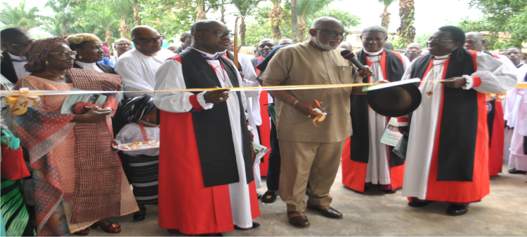 AT THE DEDICATION OF THE BISHOP\'S COURT