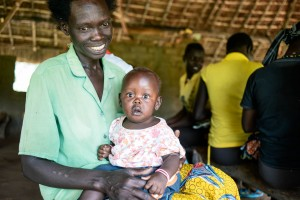 Mother and baby, maternal health, healthcare South Sudan