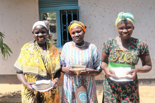 Participants in Manna Microfinance