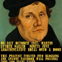 Martin Luther's legacy...