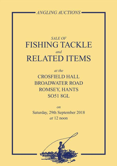 Angling auctions catalogue Sept 2018