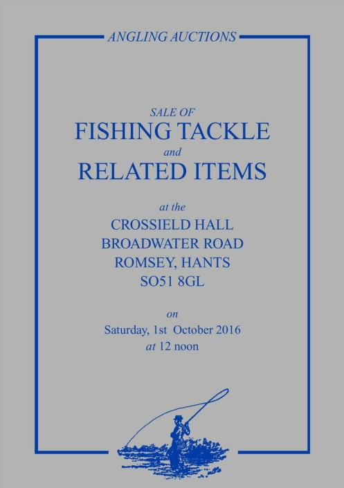 Angling auctions catalogue October 2016