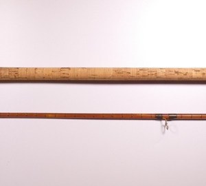 "A Davenport & Fordham ""Specialist"" 1st model 2 piece cane coarse/carp rod,"