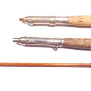 A scarce H.L. Leonard built cane bait casting rod,