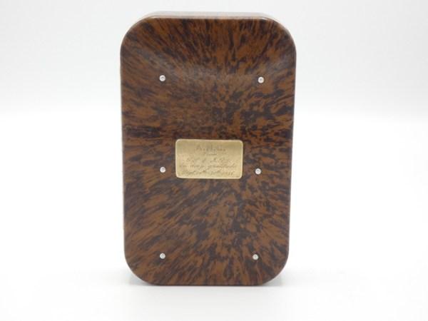 An historically important Hardy Neroda bakelite salmon fly box,