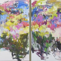The Edge of Abstraction, a collection of paintings by Betty Anglin Smith, Carl Plansky, and Micheal Zarowsky: June 6-20