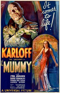 The Mummy 1932 film poster