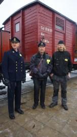Några ur tågpersonalen 2016