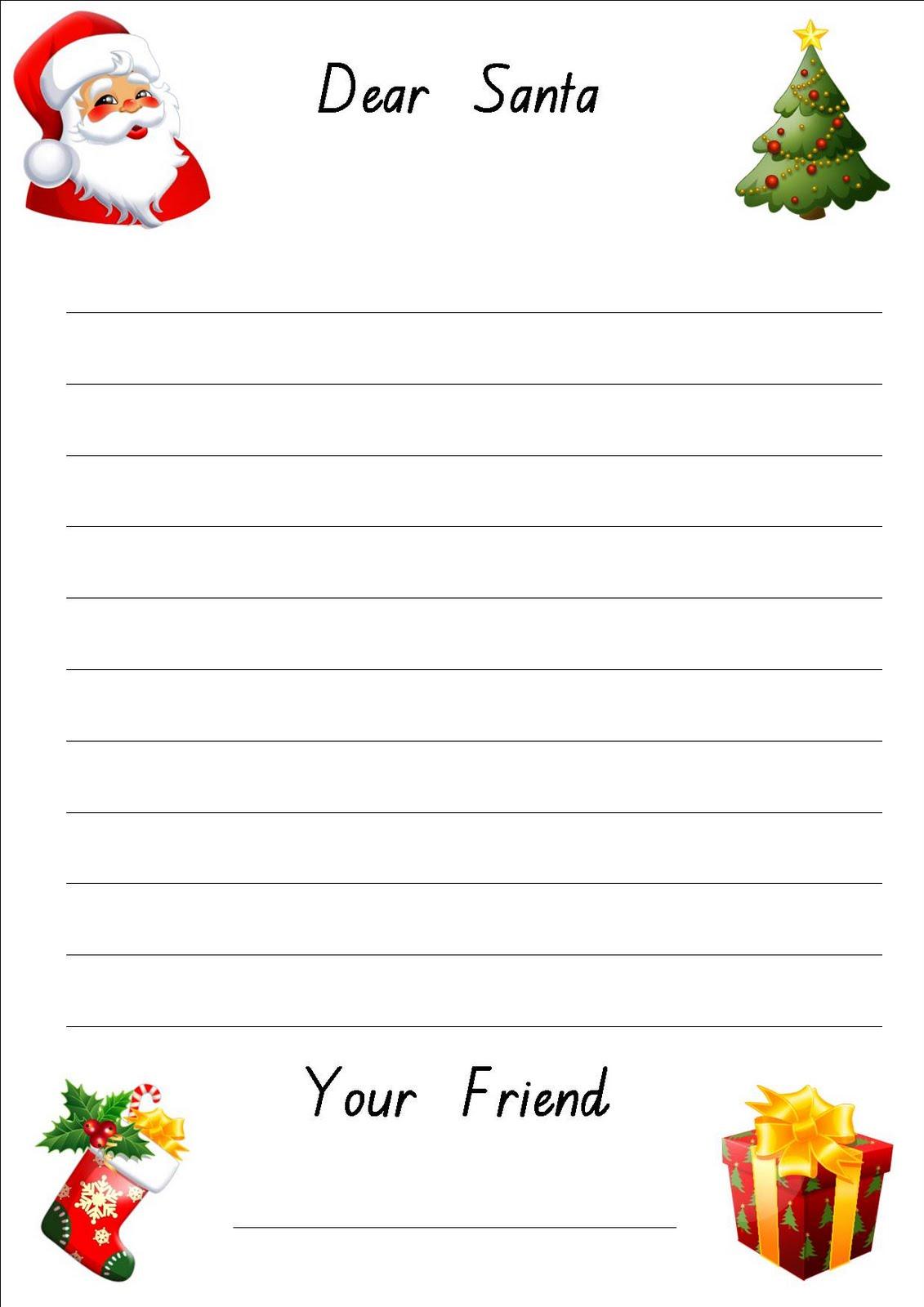 Dear Santa Anglokids