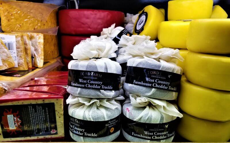 Cheese selection at Jungle Jim's