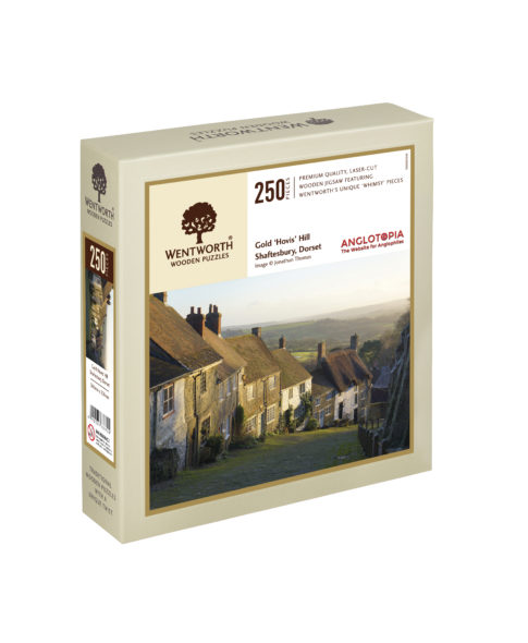 HIGHCLERE CASTLE 250 PIECES WENTWORTH WOODEN JIGSAW PUZZLE