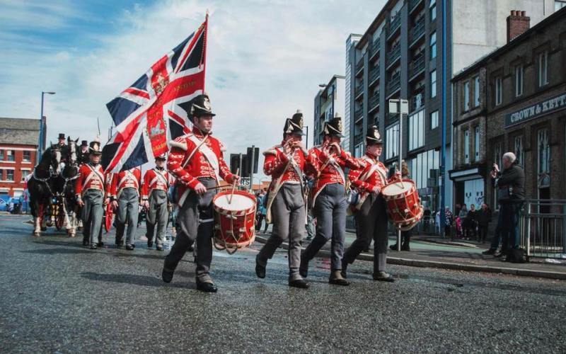 Manchester St George's Day Parade
