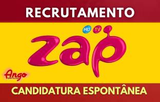 Candidatura Espontânea Recrutamento ZAP 2021
