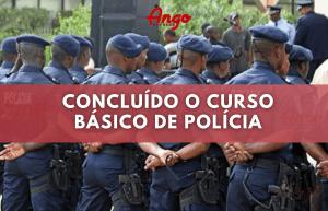 Terminado o Curso básico de Polícia