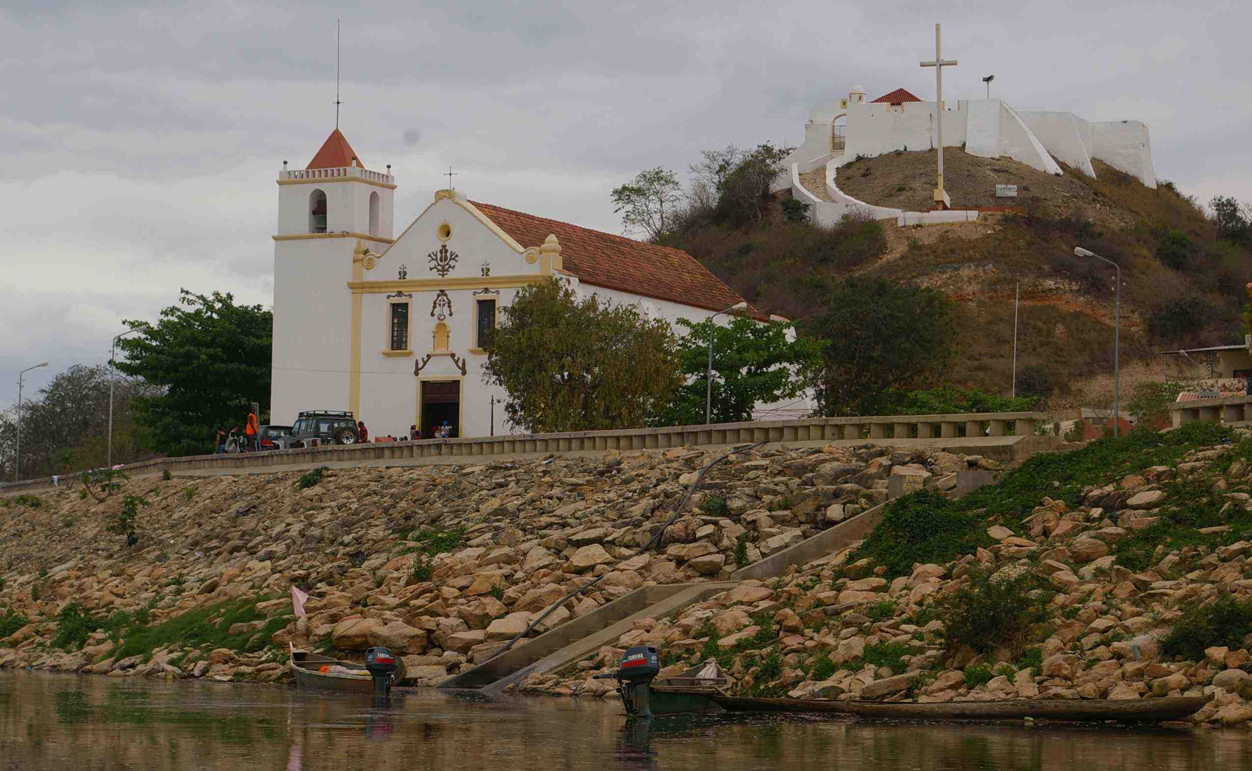 Church and fort, Muxima.