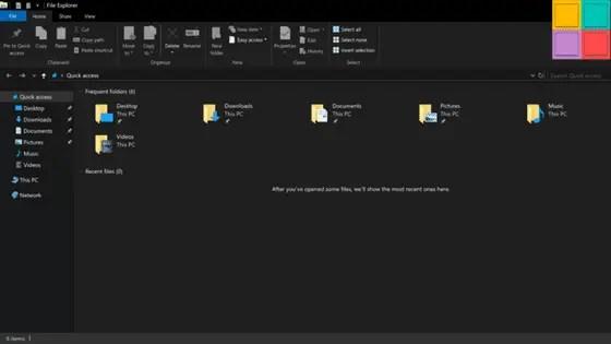 Microsoft Introduce Il Tema Scuro Per Esplora Risorse