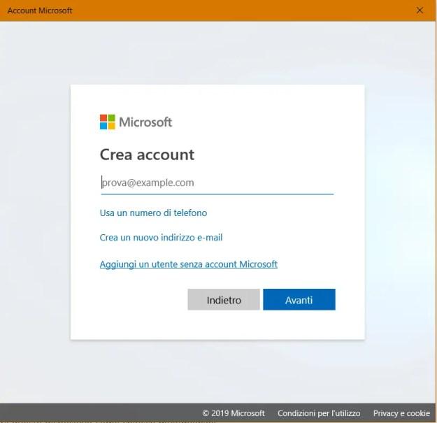 utente03 - Windows: come creare un nuovo account utente
