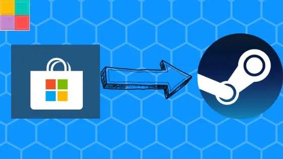 Come esportare i giochi da Windows Store a Steam