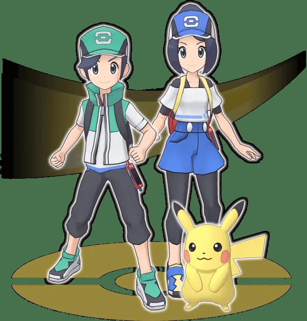 Personaggio principale e Pikachu