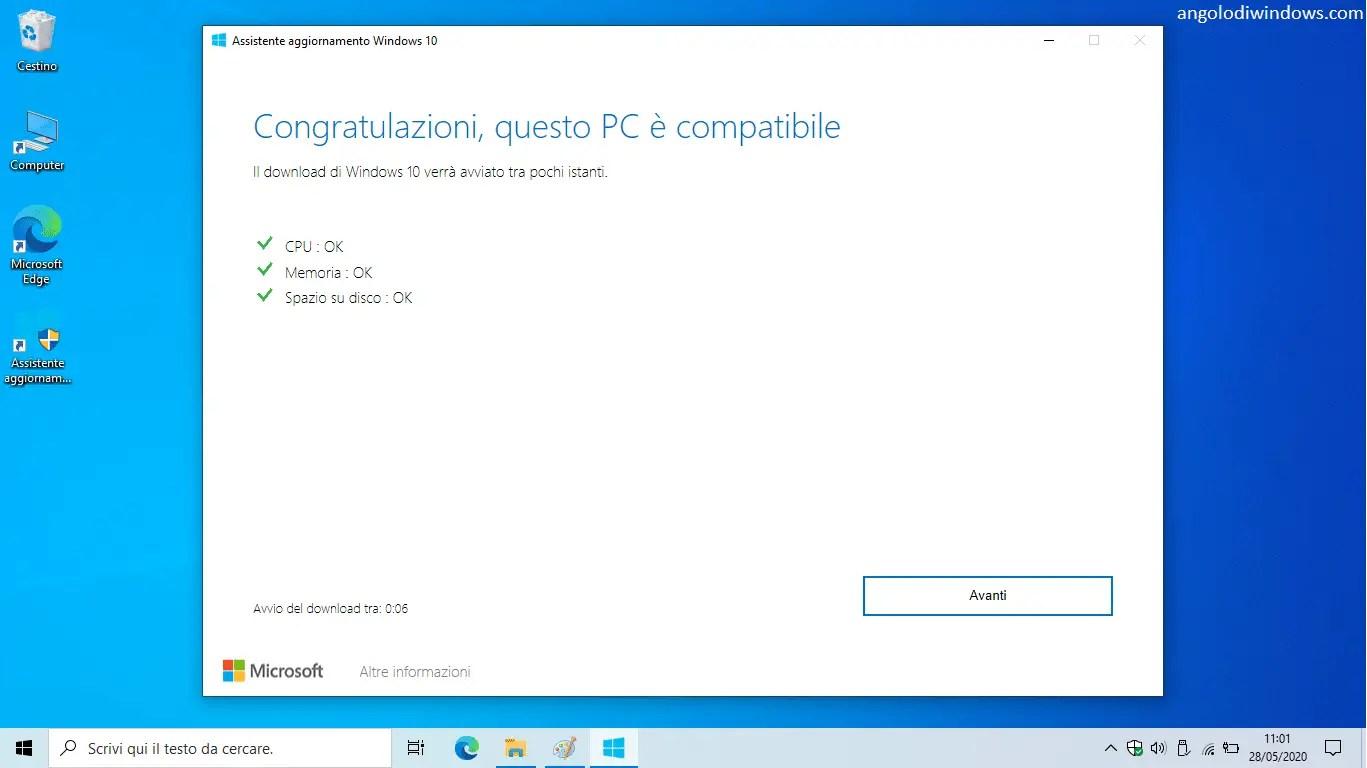 Come aggiornare o posticipare l'aggiornamento a Windows 10 October 2020 Update