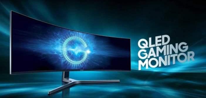 Samsung lança o monitor mais largo do mundo para computador