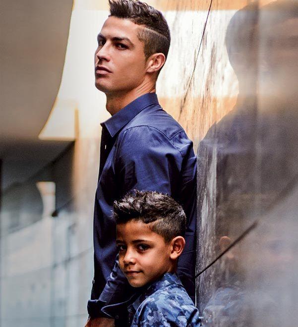 Cristiano Ronaldo e filho revista hola e1510133831442