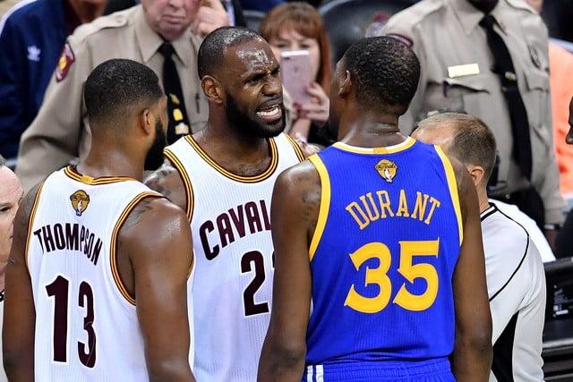 Cleveland Cavaliers e Golden State Warrior