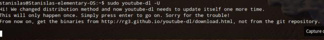 Télécharger une vidéo Youtube depuis son terminal GNU/Linux avec youtube-dl