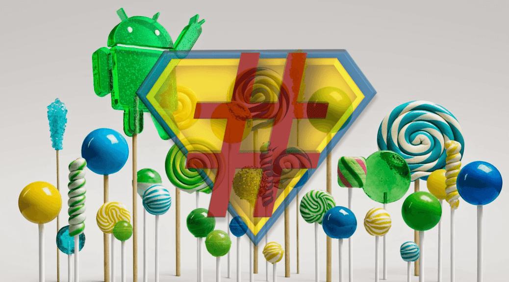 Rooter votre Zenfone sous Lollipop