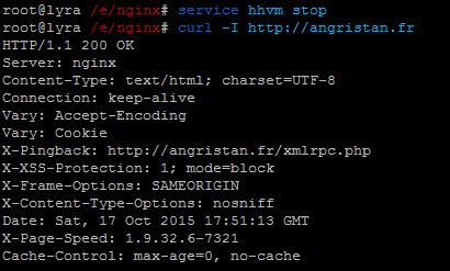 Installer HHVM avec fallback PHP-FPM sous Debian 8 et Nginx
