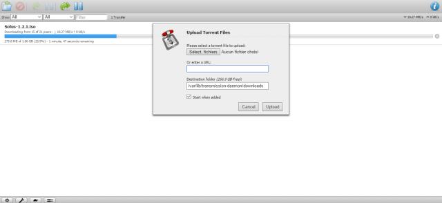 Seedbox : installer le client torrent Transmission sous Debian et Ubuntu
