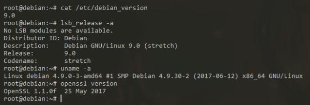 Mettre à jour Debian 8 Jessie vers Debian 9 Stretch