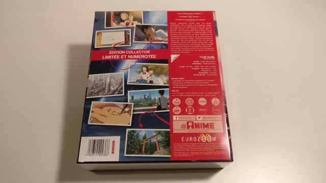 Déballage de l'édition collector limitée française de Kimi no Na Wa