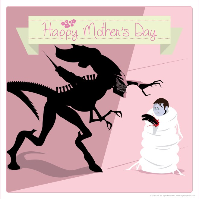 Happy Mother's Day Alien Queen